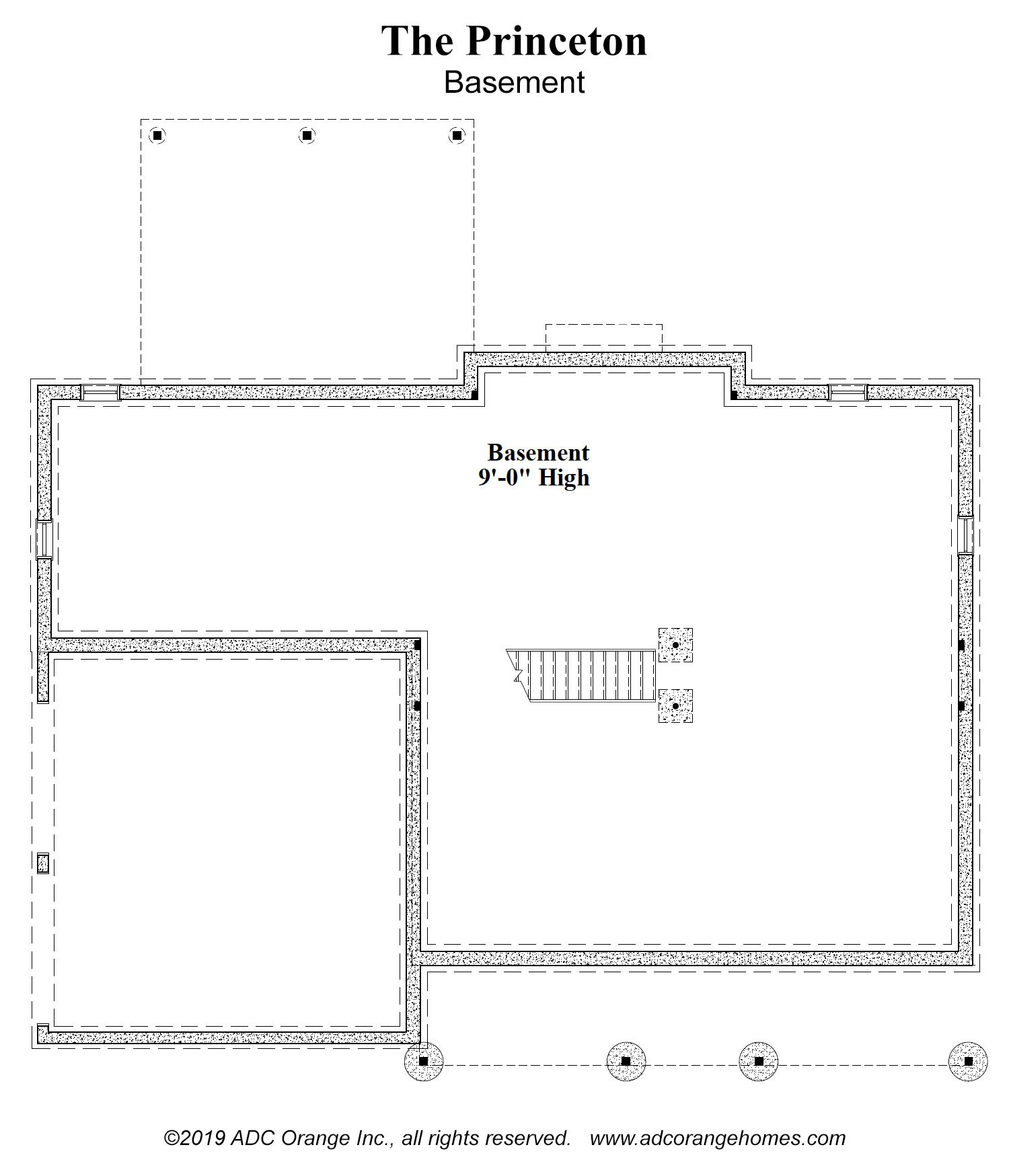 Basement floor plan - move in ready home - Orange County, New York