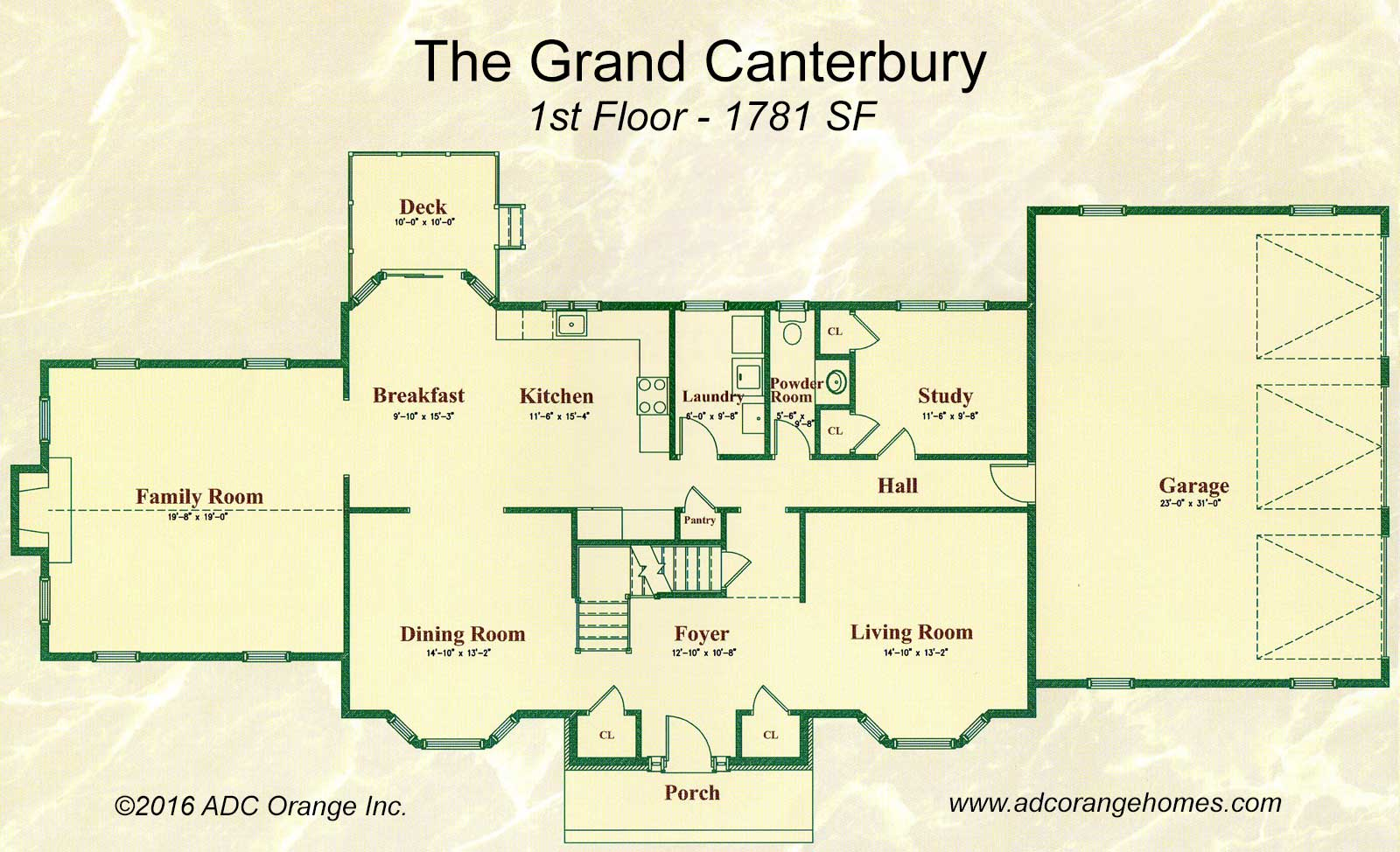 Grand canterbury new home in orange county ny Canterbury floor plan