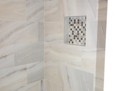 Another view of main tub with custom tilework