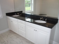 Extended master bathroom
