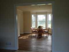 Extra large formal dining room near the kitchen