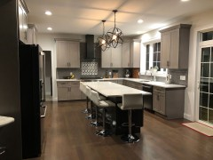 This kitchen features many upgrades