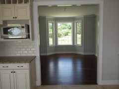 View of formal dining room from kitchen